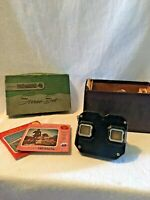 Vintage Sawyer's Viewmaster Stereo Set w/ Light, 34 Picture Reels & Original Box