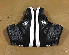DC Rebound High WNT Women's Size 7 Grey Ash BMX Skate Shoes Sneakers