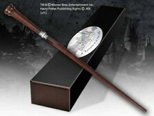 Harry Potter Rufus Scrimgeour Character Wand with Nameplate Noble Collection