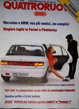 Quattroruote 456 1993 Giugiaro toglie la Ferrari a Pininfarina. Kia Sephia Q102]