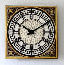 BIG BEN Uhr 33x33 Wanduhr Westminsteruhr London Westminster historisch Uhr neu