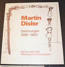MATIN DISLER Tekeningen 1968-1983 exhibition booklet german 3-7204-0026-7