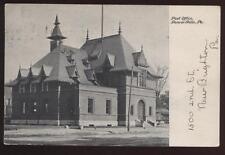 Postcard BEAVER FALLS PA Post Office View 1906?