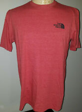 The North Face Mens T-Shirt Medium Classic Fit Red