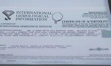 IGI Certified 14k White Gold Round Diamond Solitaire .23 Carat Ring Size 7.25