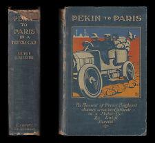 1907 Barzini PEKIN TO PARIS IN A MOTOR CAR  Peking CHINA MONGOLIA Siberia RUSSIA