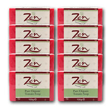 TOMATO SOAP ACNE CONTROL BY ZEN Pk 15  Exfoliate Skin dry up pimple reduce pores