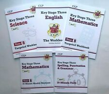 Ks3 Maths Year 8 Targeted Workbook With Answers Books CGP Coordination G