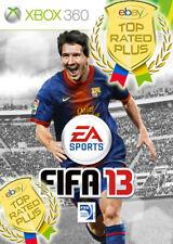 FIFA Soccer 13 Microsoft Xbox 360 video game collectible x box games lot 2012 x