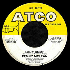 """PENNY MCLEAN """"LADY BUMP/The Lady Bumps On"""" ATCO 45-7038 (1975) 45rpm SINGLE"""