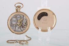 ANTIQUE ZENITH SWISS 15 JEWELS 14K GOLD FILLED B&B PEER 20 YR POCKET WATCH 2317B