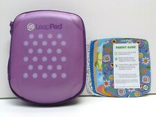 Leapfrog LeapPad 2 - Purple Polka Dot Case & 6 Sticker Skins - Accessory