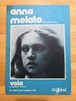 Spartito VOLA Anna Melato musica E.Fusco Testo A.Spasiano Edizioni Jubal 1974