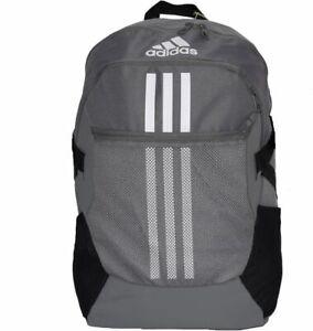 Adidas TIRO Backpack Sports Casual School Football Bag Back  Grey Grey/Black