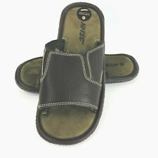 Hi Tech Slip On Casual Medium 8 9 Men's Shoes Brown Slides Mules New Loafers