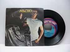 MACHO I'M A MAN - COSE THERE'S MUSIC IN THE AIR GOODYMUSIC GOM 7009 OTTIMO