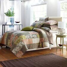 Quilt Comforter Patchwork 100% Cotton Eliza Multi color The Company Store