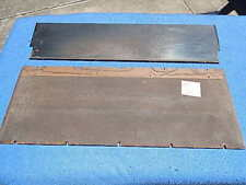 AMI D40 D80 Cabinet Top Trim Back Plate L-304 and Backboard L-297