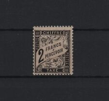 "FRANCE YVERT TAXE 23 SCOTT POSTAGE DUE J24 "" DUVAL 2F BLACK "" MNH VF SIGNED R634"