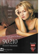 JENNY GARTH PINUP - 90210 SEASON PREMIERE AD - 1995!!