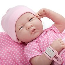 Newborn Realistic Baby Girl Doll Lifelike Reborn Soft Vinyl Real Look 10 Pc Set