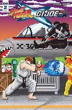 Street Fighter x G.I. Joe #2 1:10 Variant Comic Book