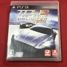 oc0003 Exc+ PS3 PlayStation 3 Test Drive Unlimited 2 Plus Casino Onli