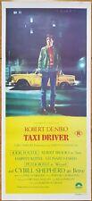 Taxi Driver original daybill movie poster Robert Deniro Martin Scorsese