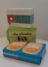 Vintage Seifen Packungen 3 Stück Ca. 70 Jahre FA puroman Goldstück Cremseife Neu