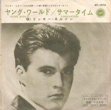 Single Rick Nelson Young World Japan