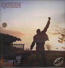 "QUEEN FREDDIE MERCURY ""MADE IN HEAVEN"" RARE LP LIMITED WHITE VINYL 1995 - MINT"