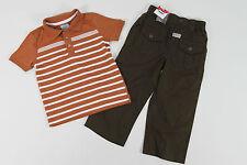 Kombination Poloshirt Shirt F&F + Leinen Hose Chicco, Gr 86 92 (1,5-2 Jh), neu