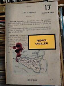 I CLASSICI DEL GIALLO RACCOLTA n.17 ANDREA CAMILLERI - Mondadori (n)