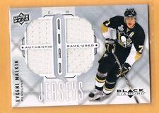 2009-10 Black Diamond Evgeni Malkin Jersey Pittsburgh Penguins