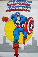 CAPTAIN AMERICA MARVELMANIA Vintage Marvel comics poster 22x30 JOHN ROMITA