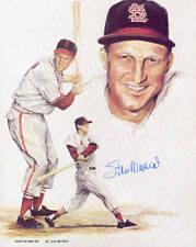 Stan Musial St. Louis Cardinals Autographed 8x10 Photo HOF COA #6 DECEASED