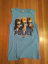 New listing The Police 1983 80s Synchronicity concert Tour shirt screen stars Large Sting