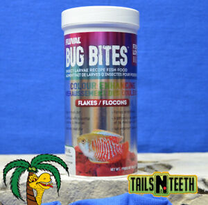 Fluval Bug Bites Colour Enhancing Formula 90g ~ Insect Larvae High Protein Diet