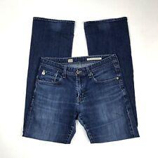 AG Adriano Goldschmied  31 Fillmore Jean Mens Solid Blue Medium Wash