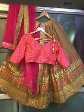 Wedding bridal wear Lehenga Designer Indian Latest Bollywood lengha choli saree