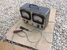 Ancien Voltmètre ampèremètre KING US déco atelier garage vintage voiture