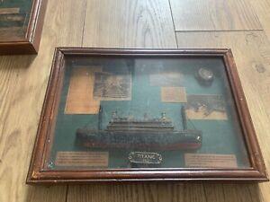 2x Titanic Memorabilia Antique Pictures