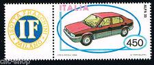 ITALIA 1 FRANCOBOLLO MACCHINA ALFA ROMEO 33 AUTO APP. 1984 nuovo**