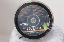 DVD+R Doble Capa  8x, pack de 10