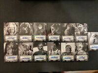 2019 Topps Star Wars ESB Black & White Base Auto: Pick From List