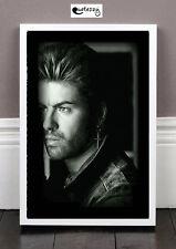 George Michael (framed print)