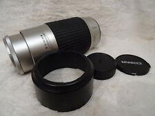 Cosina 100-300mm f/5.6-6.7 Mc Macro Zoom Lente Af * como Nuevo * Minolta Af/Sony Alpha