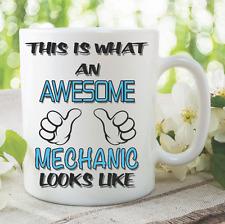 Novelty Mug Awesome Mechanic Coffee Tea Funny Gift Birthday Cup Work WSDMUG787