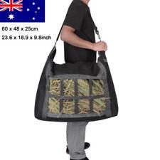 Large Haybag Horse Slow Feeder Hay Bag Net Horse Float Stable Fence Feeding AU