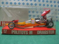 Vintage - Dragster Dragon - 1/43 Politoys-M602 - Made in Italy 1970 - MIB